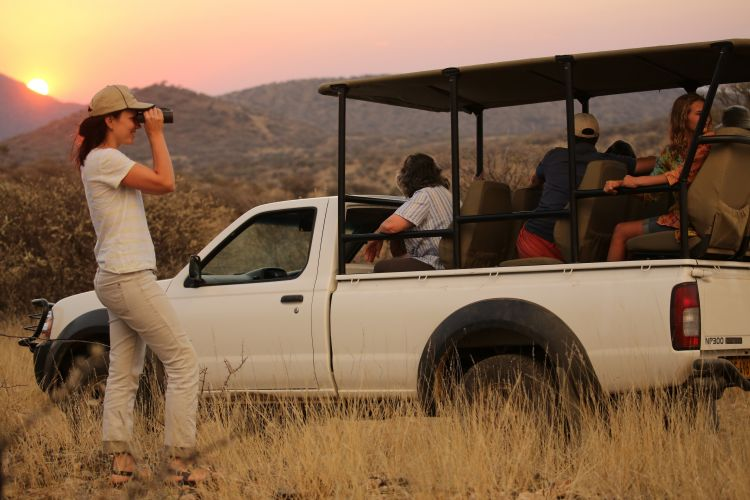 Namibia game drive